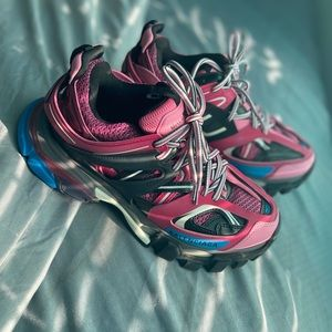 balenciaga's track shoes